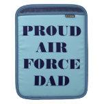Ipad Sleeve Proud Air Force Dad