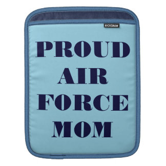 Ipad Sleeve Proud Air Force Mom