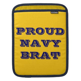 Ipad Sleeve Proud Navy Brat