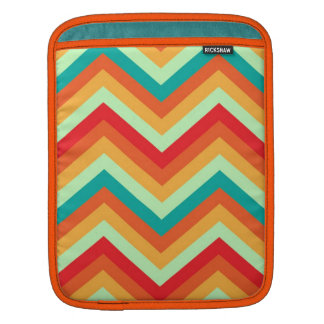 iPad Sleeve Retro Zig Zag Chevron Pattern