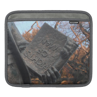 Ipad Sleeve Rights Of Man Held By Thomas Paine