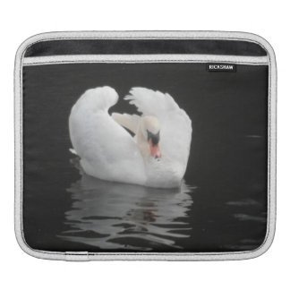 Ipad Sleeve Swan Swimming