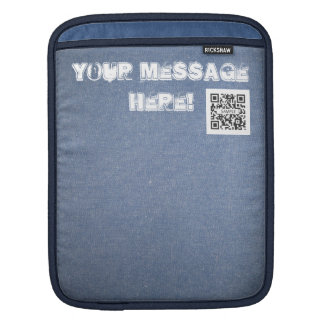 iPad Sleeve Template Denim Generic