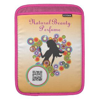 iPad Sleeve Template Natural Beauty Perfume