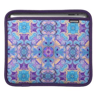 iPad Sleeve with Kaleidoscope Pattern