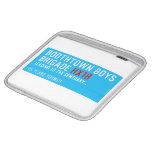 boothtown boys  brigade  iPad Sleeves