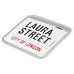 Laura Street  iPad Sleeves