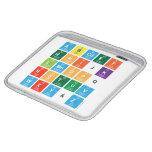 Abcdef ghijk lmnopq rstuv wxy&z  iPad Sleeves
