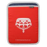 [Crown upside down]  iPad Sleeves