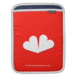[Two hearts]  iPad Sleeves