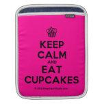 [Cupcake] keep calm and eat cupcakes  iPad Sleeves