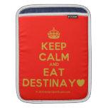 [Crown] keep calm and eat destinay♥  iPad Sleeves