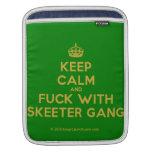 [Crown] keep calm and fuck with skeeter gang  iPad Sleeves