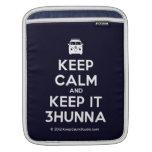 [Campervan] keep calm and keep it 3hunna  iPad Sleeves