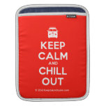 [Campervan] keep calm and chill out  iPad Sleeves