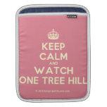 [Crown] keep calm and watch one tree hill  iPad Sleeves