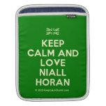 [UK Flag] keep calm and love niall horan  iPad Sleeves