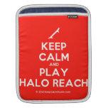 [Skateboard] keep calm and play halo reach  iPad Sleeves