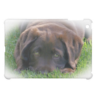Ipad Smart Cover with Chocolate Lab Puppy Case For The iPad Mini