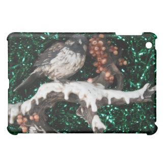 Ipadcase Bird Winter Scene iPad Mini Covers