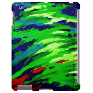 iPadCase del ópalo colorido único Funda Para iPad