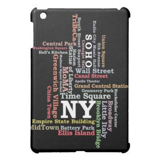 iPadCase Nueva York NY - tipografía