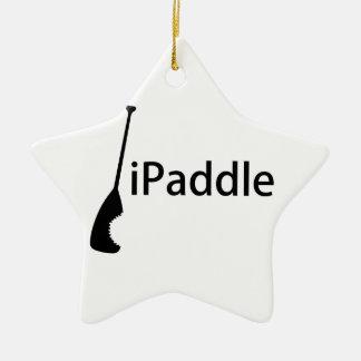 iPaddle Ceramic Ornament