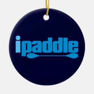 ipaddle ceramic ornament