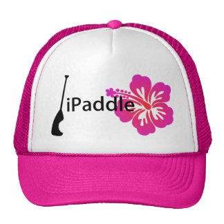 iPaddle & Hibiscus Trucker Hat