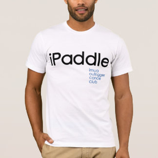 iPaddle: Imua Outrigger Canoe Club T-Shirt
