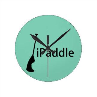 iPaddle Round Clock