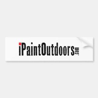 iPaintOutdoors Car Bumper Sticker