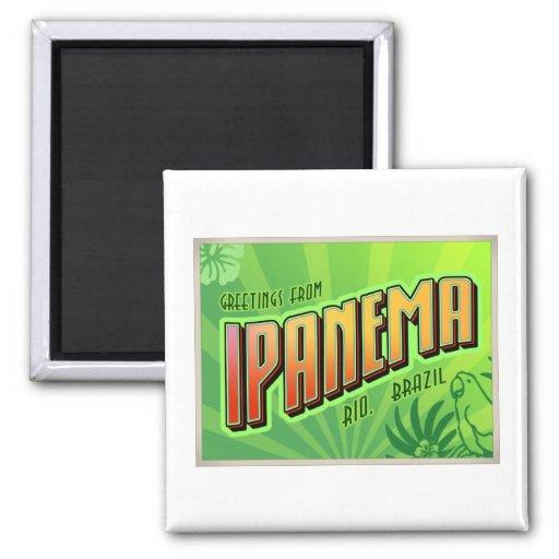 IPANEMA 2 INCH SQUARE MAGNET