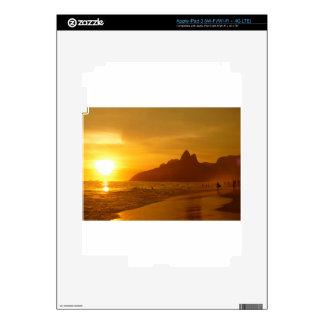Ipanema beach decal for iPad 3