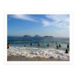 Ipanema Beach Postcard