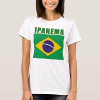 IPANEMA Brazil Beach Tshirts, Gifts T-Shirt
