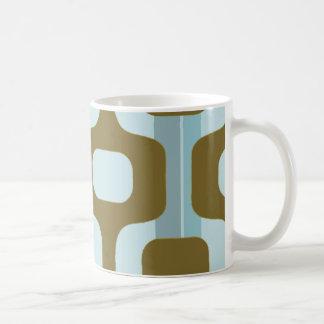 Ipanema calçadão, rio city coffee mug