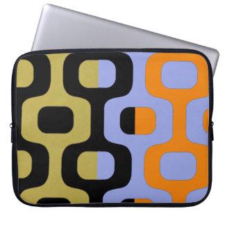 Ipanema colored boardwalk laptop computer sleeves