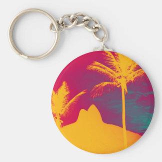 Ipanema - Leblon Basic Round Button Keychain