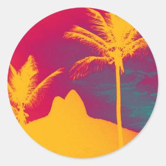 Ipanema - Leblon Classic Round Sticker