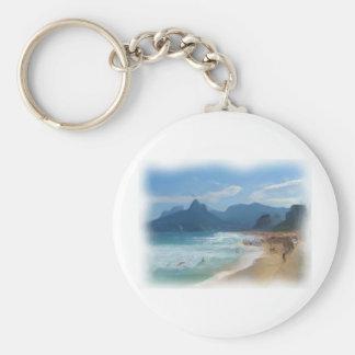Ipanema_Painting Keychain