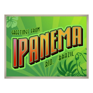 IPANEMA poster