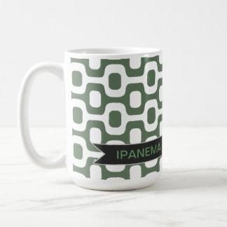 Ipanema, rio de janeiro, sidewalk coffee mug