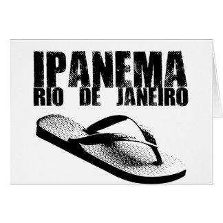 Ipanema, Río de Janeiro Tarjeta