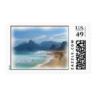 Ipanema Stamp