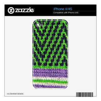 ipc Artisanware Knit IPhone Skin 4S Decal For The iPhone 4S