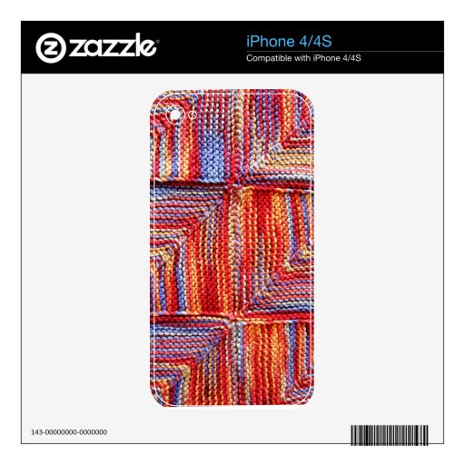 ipc Artisanware Knit IPhone Skin 4S Skin For iPhone 4S