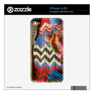ipc Artisanware Knit IPhone Skin Skin For The iPhone 4