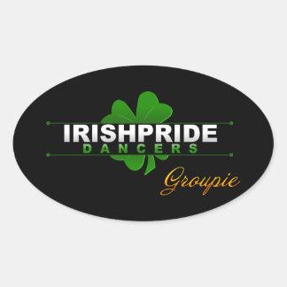 IPD Groupie Oval Sticker
