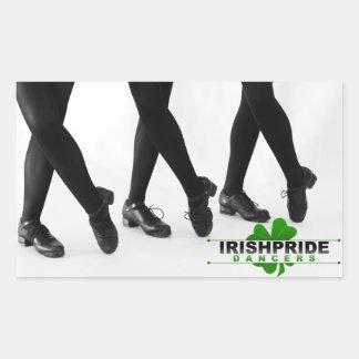 IPD Hardshoe Design Rectangle Sticker